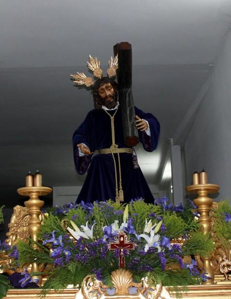 Jesús Caído con la Cruz a cuestas