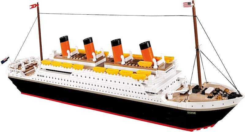 COBI Historical Collection R.M.S. Titanic Building Block set