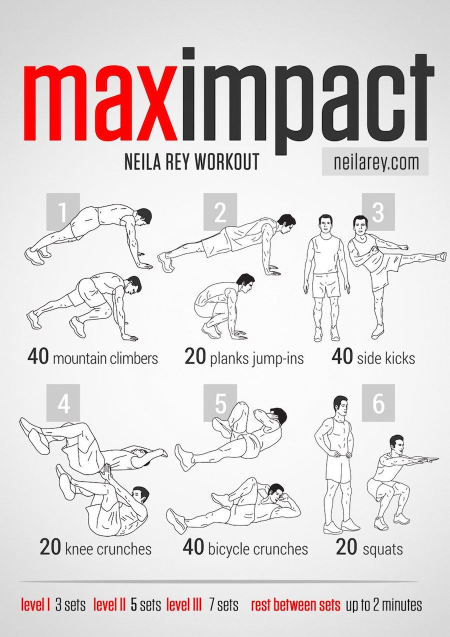Max Impact home workout