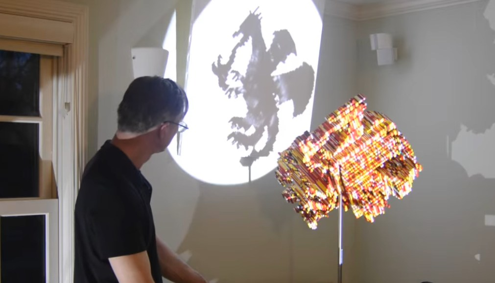 LEGO Sculptures Shadows