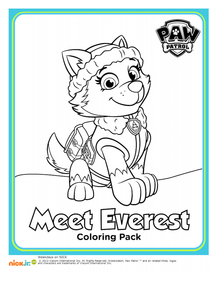 Paw-Patrol-Coloring-Pages