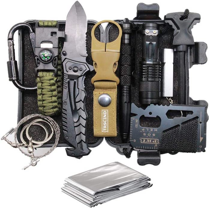 11-in-1 Survival Gear Kit