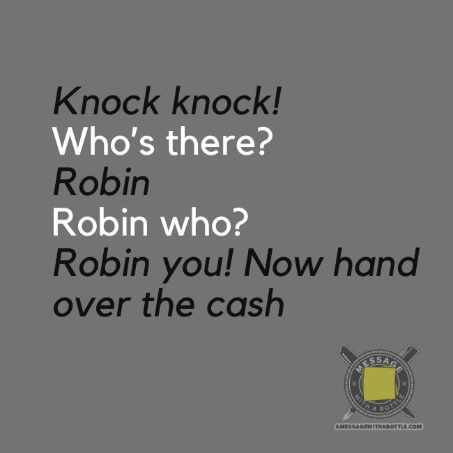 kid's knock-knock joke #3