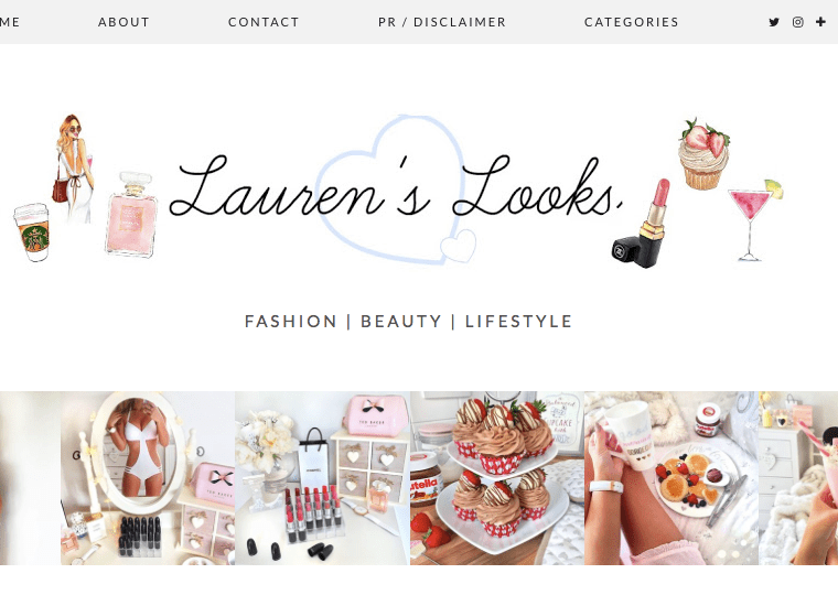 My Current Blog Crush: Lauren's Looks