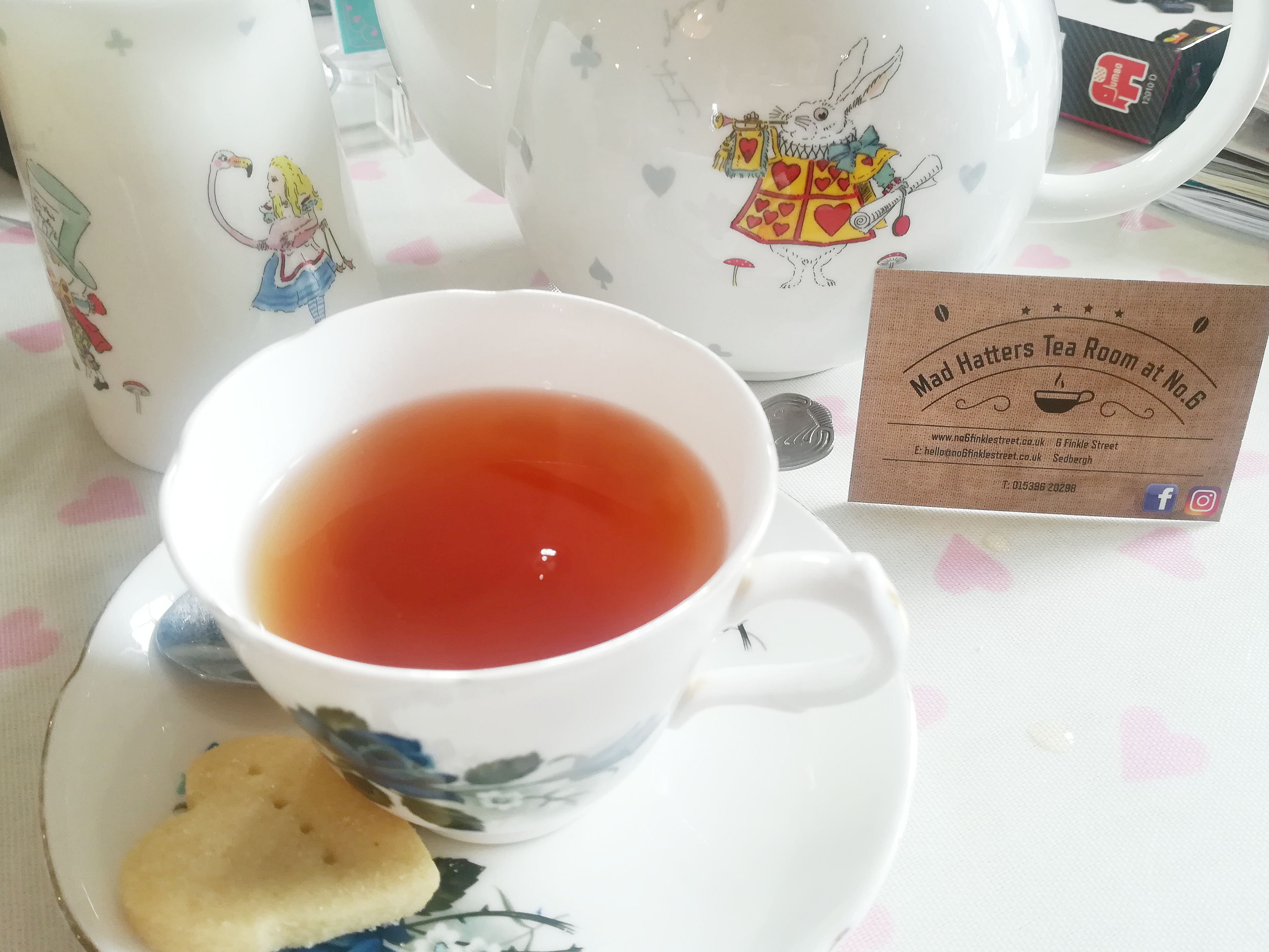 Our 2017 Holiday Blogs || Day 7 || Sedbergh & the Mad Hatters Tea Room