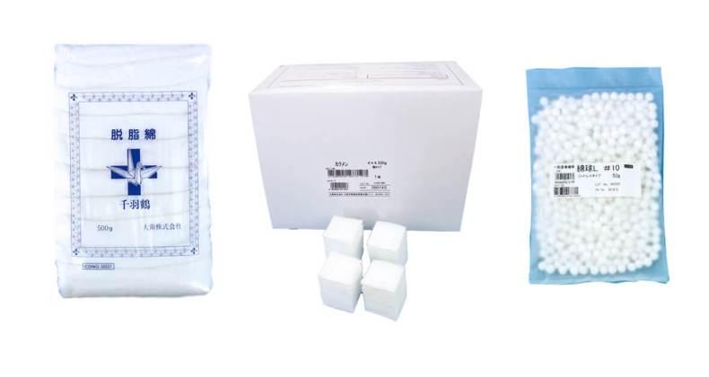 脱脂綿製品カテゴリーTOP画像