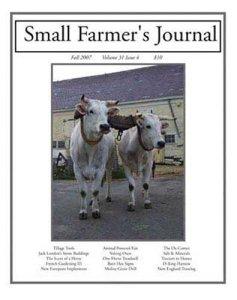 Logo for Small Farmer's Journal