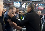 US President Barack Obama greets Navy pl