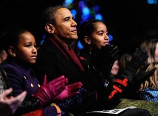 National Christmas Tree Lighting Ceremony Held On DC's Ellipse
