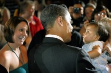President Obama & Babies23