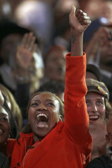 Supporters celebrate Obama16