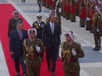 Potus arrives in Jordan19