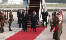 Potus arrives in Jordan27