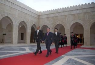 Potus arrives in Jordan6