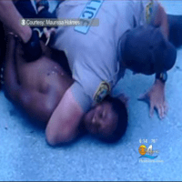 Miami Dade Police Chokes 14 Year Old Tremaine McMillian Because He Was Staring At Them