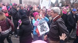 "SoS John Kerry walked through the crowd with his dog & people started cheering & then chanting, ""John Kerry. John Kerry."""