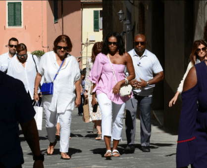 Michelle Exploring Italy 22