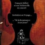 Affiche concert François 11-03-16 Saint Jeoire