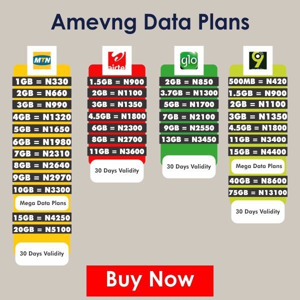 Amevng Data Plans Advert