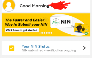 how to link nin to mtn sim using Mymtn app