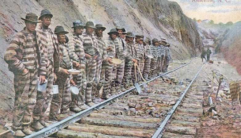 Тюрьма, Цепная банда. Chain Gang