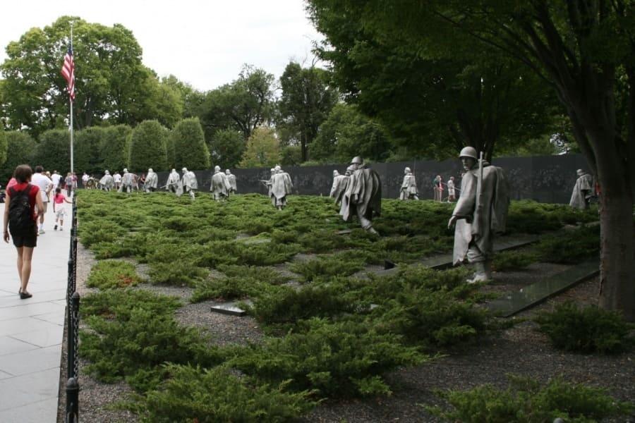 Мемориал ветеранов Корейской войны. Korean WVM in Washington DC