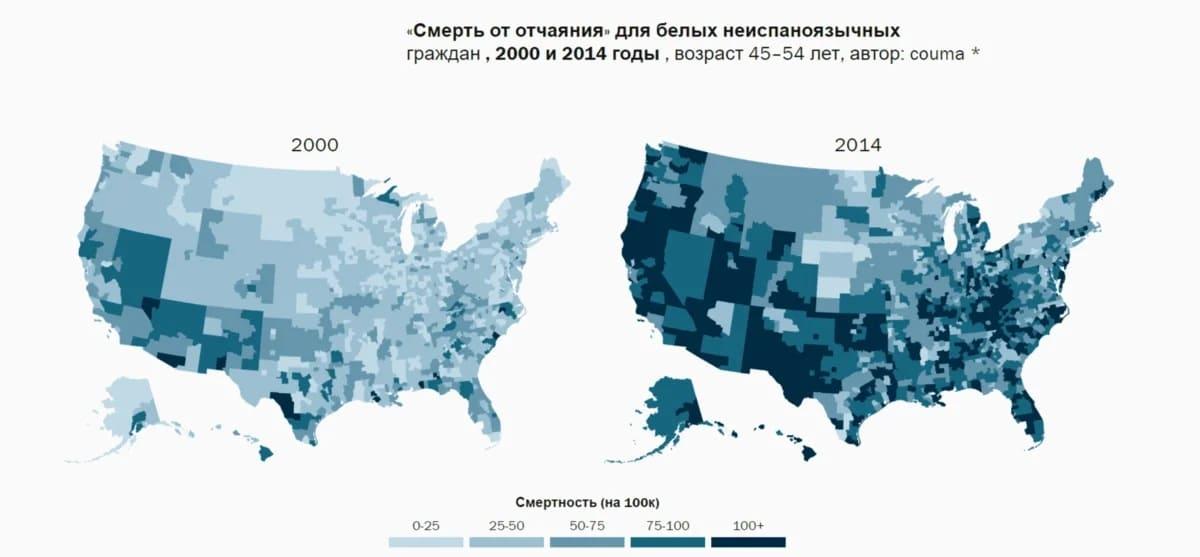Так ли хорошо со статистикой смертности в США?