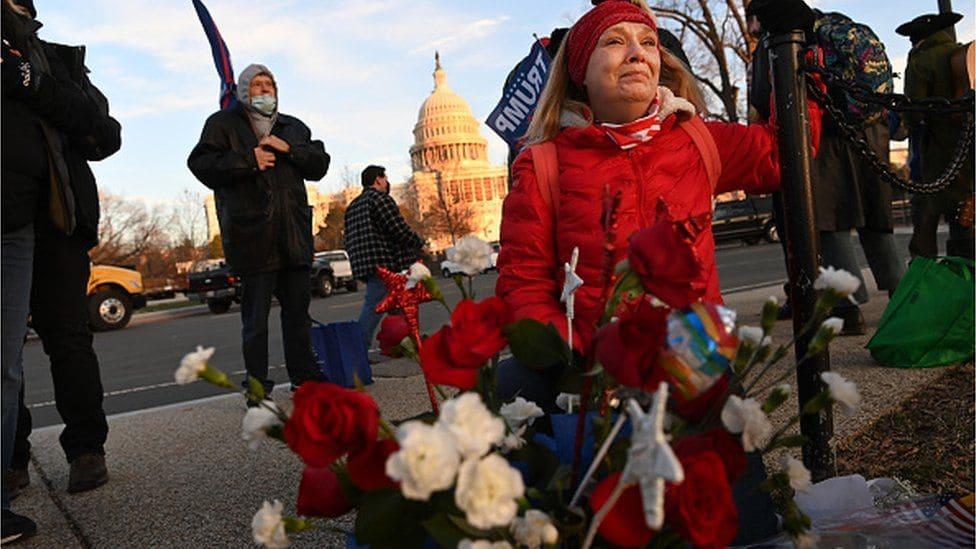 Смерть патриота. Кто такая Ashli Babbitt казнённая в Капитолии? Последний герой Америки?