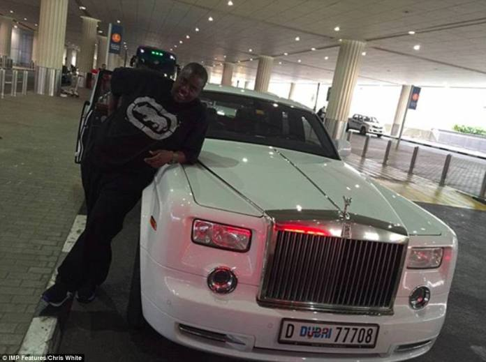 Wicknell Chivayo - the richest of the 'kids' in Zimbabwe - is known for splashing out and showing his wealth off on social media