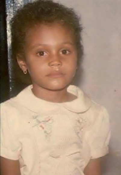 nadia buari childhood photo