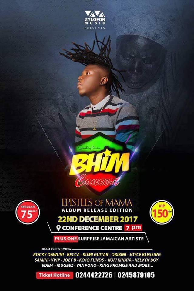 Kofi Kinaata, Samini, King Promise and more for Stonebwoy's album launch concert