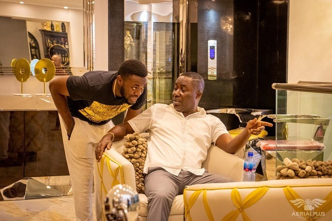 Kwame Despite's renovated 20-year-old mansion