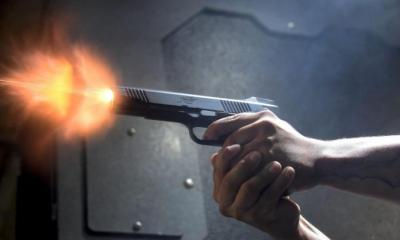 Fetish priest kills himself while testing bullet-proof charms.