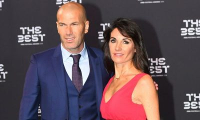 Zinedine Zidane and wife celebrate 25th wedding anniversary.