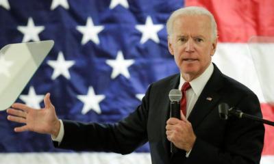 Former US vice president, Joe Biden announces he is running for president in 2020.