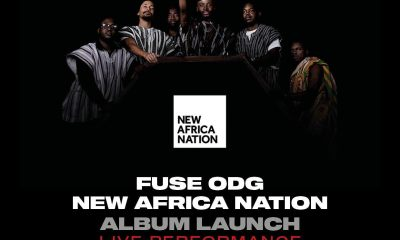 Fuse ODG showcase new project live at +233 Jazz Bar and Grill, April 18