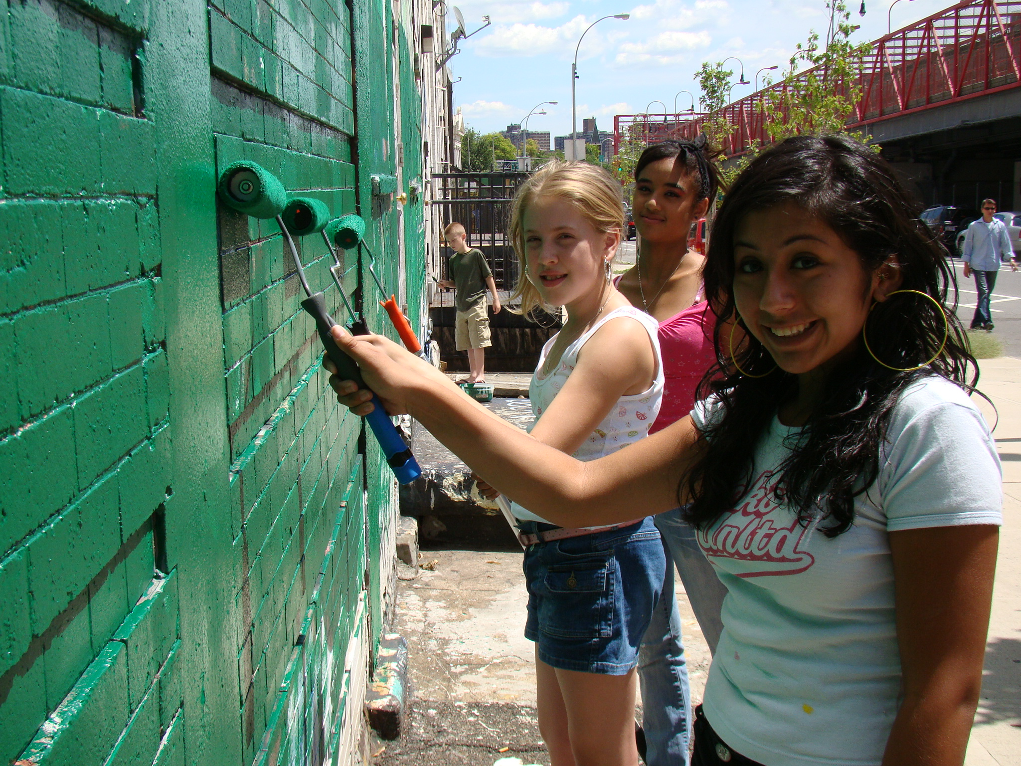 YOUNITY YOUTH preps the wall Friday