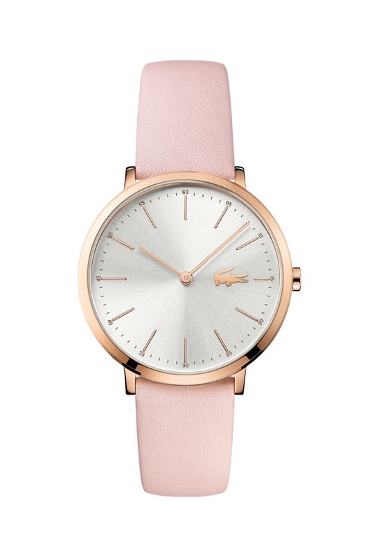 lacoste horloge dames moon roze lc2000948