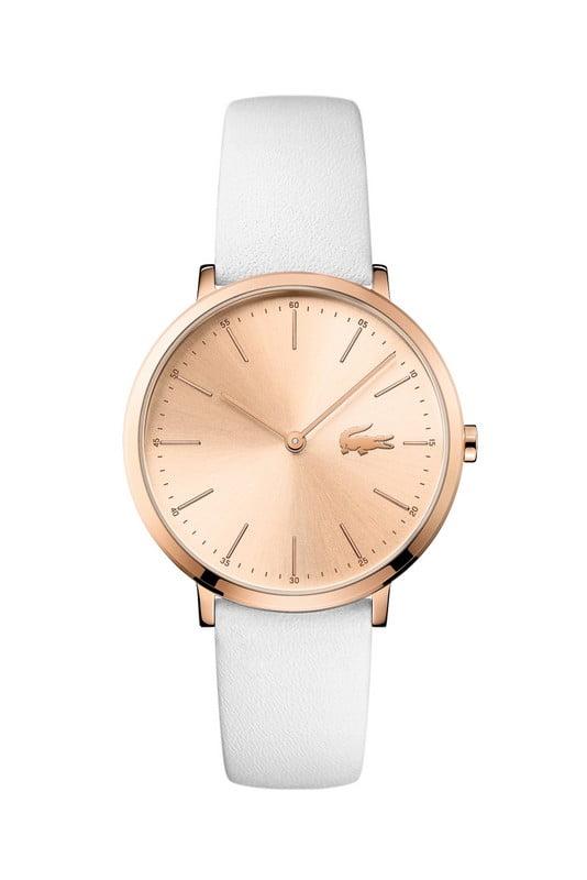 lacoste horloge dames moon ultra slim lc2001002