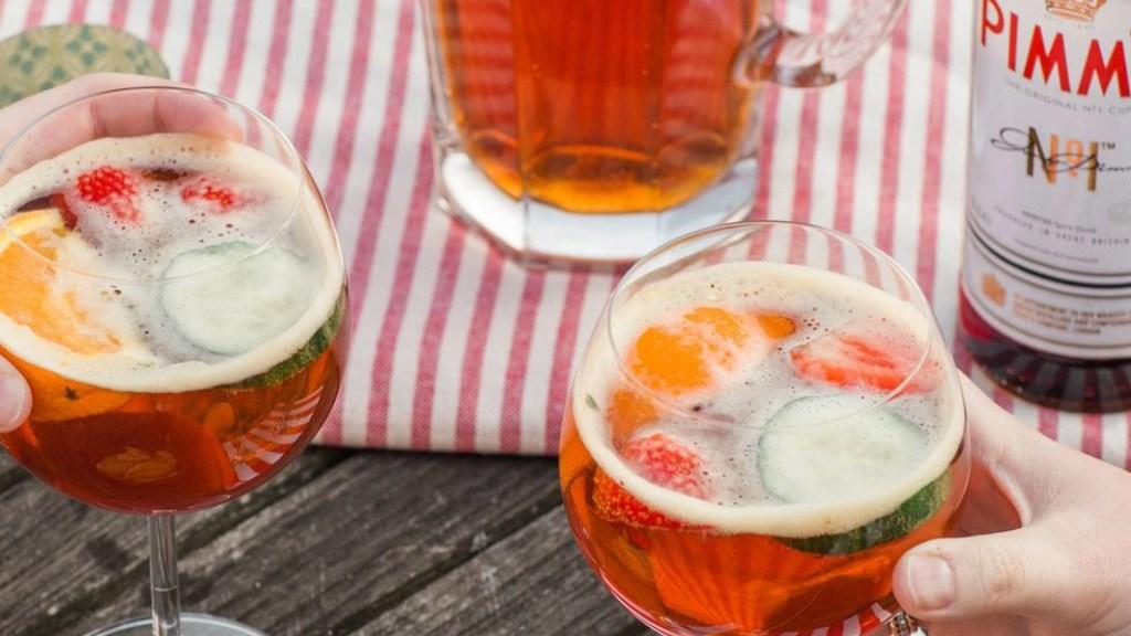 pimms spritz cocktail