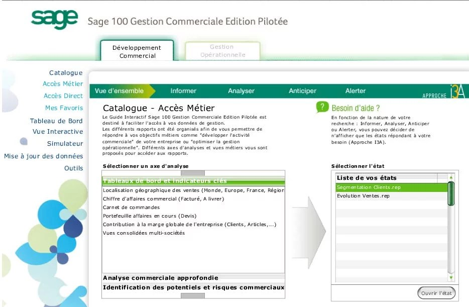 Sage 100 Gestion Commerciale Edition Pilotee Amg Informatique