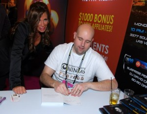 •Jeremy Schoemaker's Book Signing at Affiliate Summit West 2013