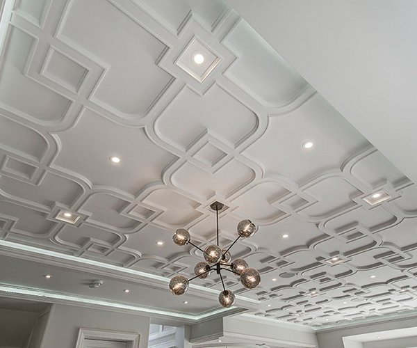 Decorative Ceiling Light Molding Novocom Top