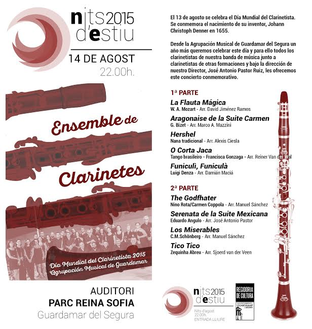 2015-08-14 CONCIERTO DÍA DEL CLARINETISTA