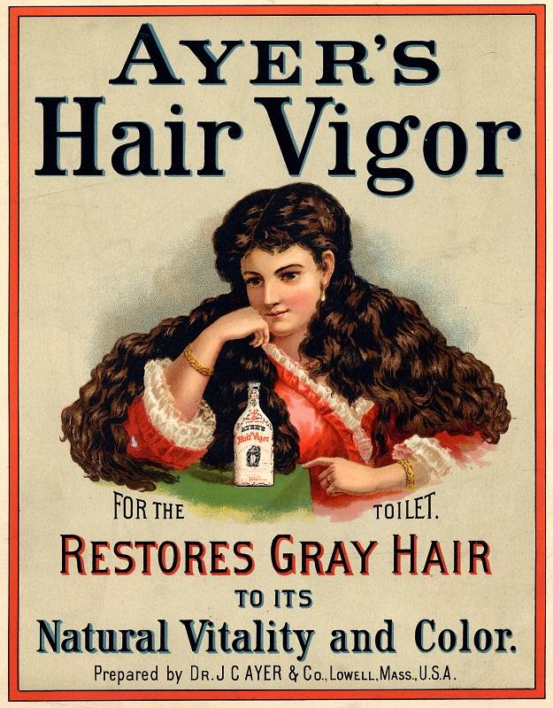 Ayer's Hair Vigor advertisement