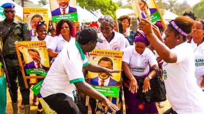 Could He Be The Messiah? Imo Statesmen, Youths Endorse Linus Okorie [See Photos]
