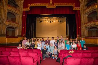 AmiCaFest 2017: Tour at the Teatro Massimo V. Bellini, Catania