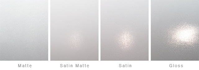 Satin Semi Gloss Difference Black