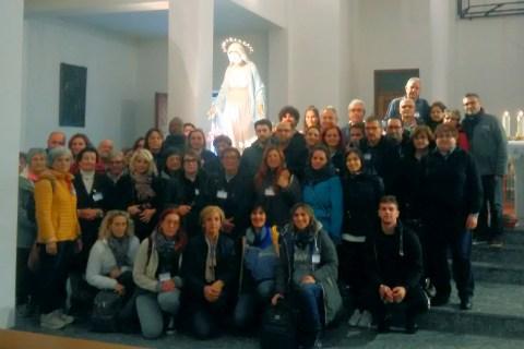 """Pellegrinaggio """"Ponte tutti i Santi e commemorazione dei defunti""""."""