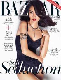 Gani's Harper Bazaar SG Cover